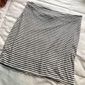 Tobi Black and White Skirt